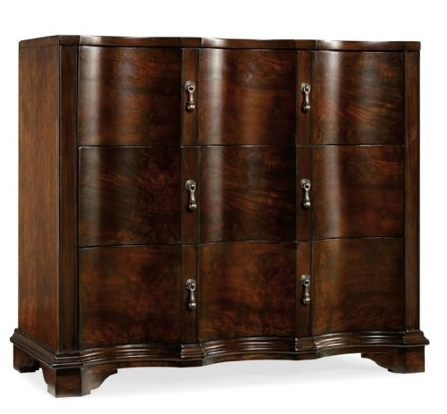 Hot Sale Hooker Furniture Estate Three Drawer Accent Chest in Mahogany