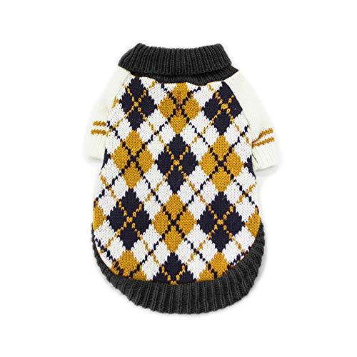Idepet suéter para Mascotas, Ropa cálida de Invierno para Perros y Gatos, Abrigo cómodo para Mascotas, Disfraz de Cachorro, Jersey de Gatito, Ropa para Perros pequeños, medianos Grandes, Gatos