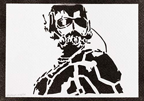 Poster Ant-Man Los Vengadores Grafiti Hecho a Mano - Handmade Street Art - Artwork