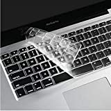 The GlassFrançais Clavier Coque de Protection/Couverture AZERTY pour MacBook Air 13' Pro 13' 15' - Transparent/Clair A1369/A1466/A1502/A1425/A1278/A1286/A1398