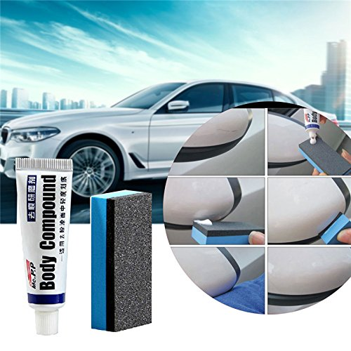 blue--net Car Paint Scratch Repair Wax Abrasives Car Polishing Body Compound Wax Paint Care Scratching Repair Kit for Auto Styling Accessories