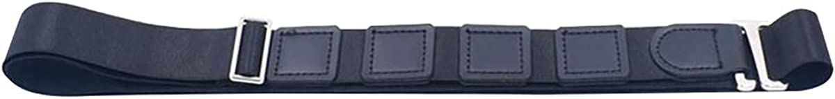 Queenbox Adjustable Shirt Holder 120cm Lock Belt Near Uniform Shirt Stay Non-Slip Wrinkle Belt