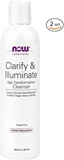 Now Foods Clarify & Illuminate Cleanser - 8 fl. oz. 2 Pack