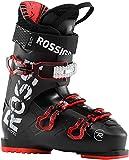 Rossignol EVO 70 Skischuhe, Erwachsene, Unisex, Schwarz/Rot, 30.5