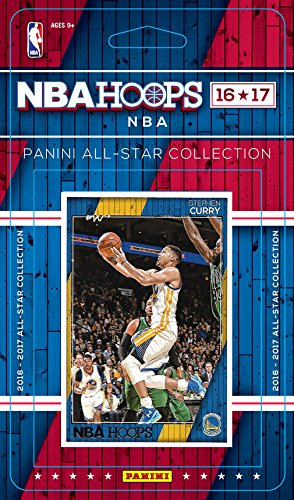 2016 2017 Hoops Basketball All Stars Collection Special Edition Factory Sealed Set with Lebron James, Stephen Curry, Jimmy Butler, James Harden and Kevin Durant Plus