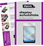 dipos I 2X Schutzfolie klar kompatibel mit Samsung Galaxy Tab S3 Folie Bildschirmschutzfolie