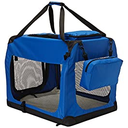 Go Pet Club Soft Dog Crate, 18-Inch