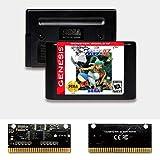 Nups Monster World IV - USA Label Flashkit MD Electroless Gold PCB Card for Sega Genesis Megadrive Video Game Console (Region-Free)