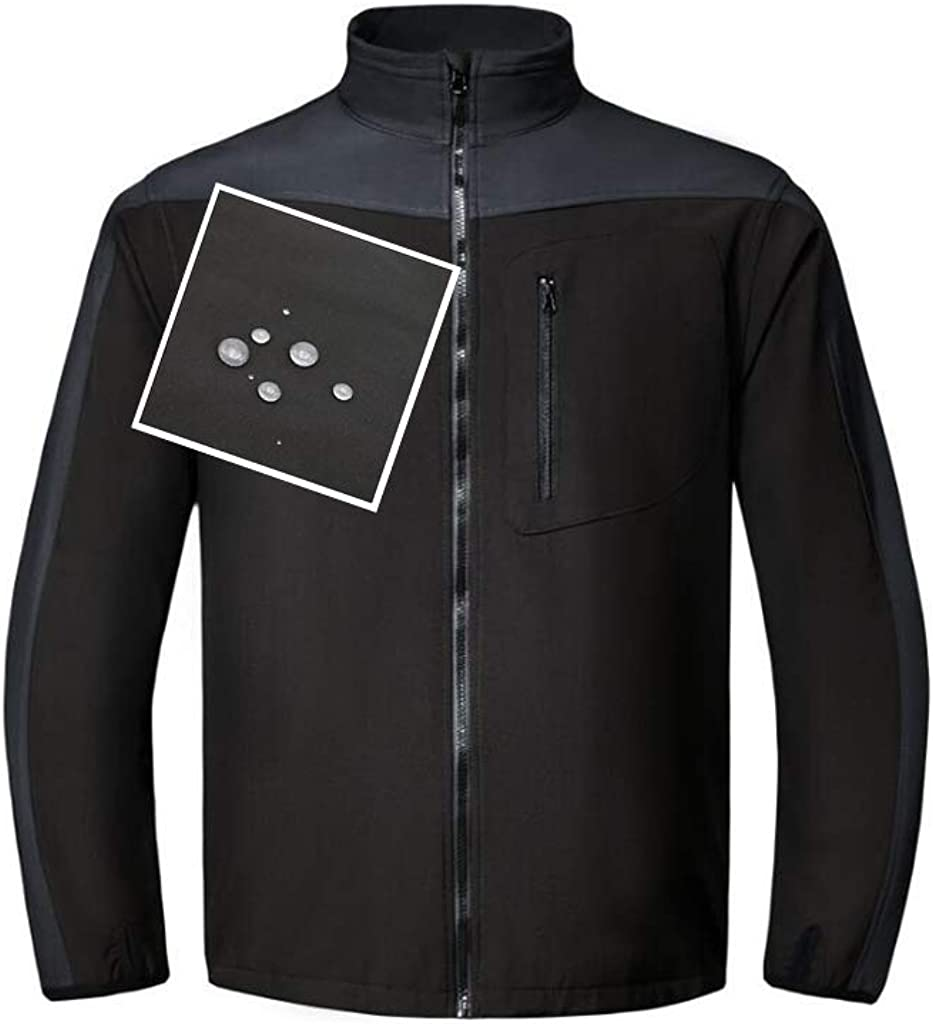 Farsee Men's Waterproof Slim fit Charlotte Mall Softshell Jacket Sport Polar Discount is also underway Fl
