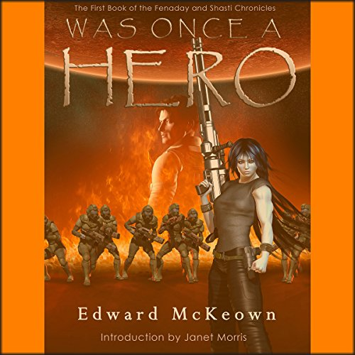 Was Once a Hero audiobook cover art