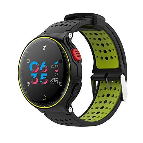 Baiyi Smartwatch met bloeddrukmeter, bluetooth-kleurendisplay, hartslag- en bloeddrukmeter, stappenteller, smart armband, fitnesstracker