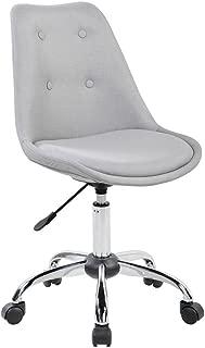 Techni Mobili Armless Desk Chair in Gray