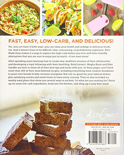 Keto Made Easy: 100+ Easy Keto Dishes Made Fast to Fit Your Life 2