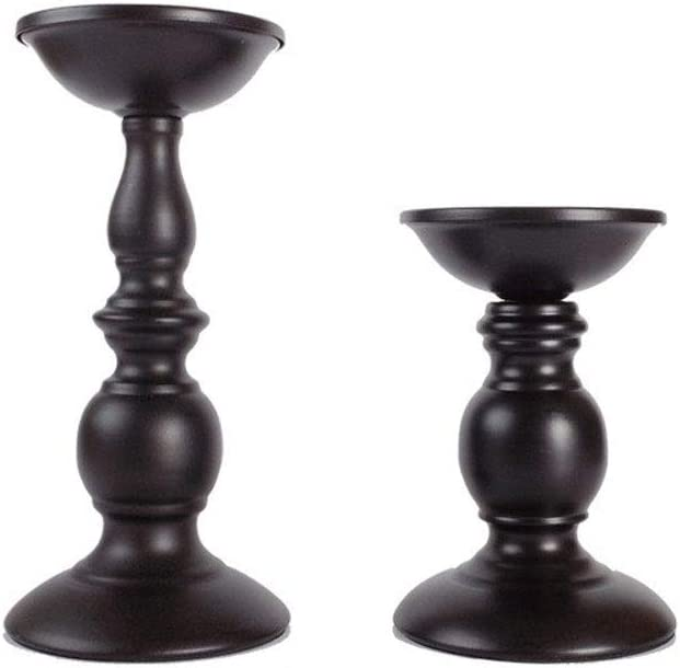 Chihen Candle Holders Black 2021new shipping free shipping Bronze 67% OFF of fixed price Home Holder Decor Cand