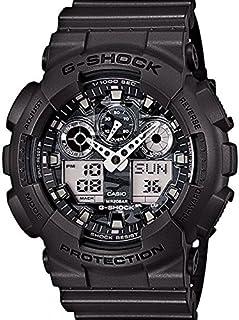 Casio G-Shock Men's Ana-Digi Dial Resin Band Watch - GA-100CF-8A