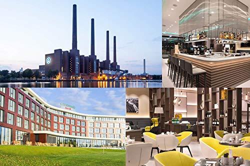 Vale de viaje – 4 días para dos en 4 * Courtyard by Marriott Wolfsburg Hotel en la autociudad – cupón de hotel de viaje corto viaje regalo