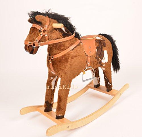 Moto /à bascule cheval /à bascule jouet en bois HALLEY Color neuf
