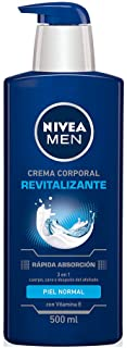 Nivea Crema Corporal Humectante Revitalizante Men, 500ml