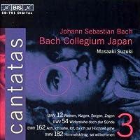 Bach: Cantatas, Vol. 3 (1996-07-09)
