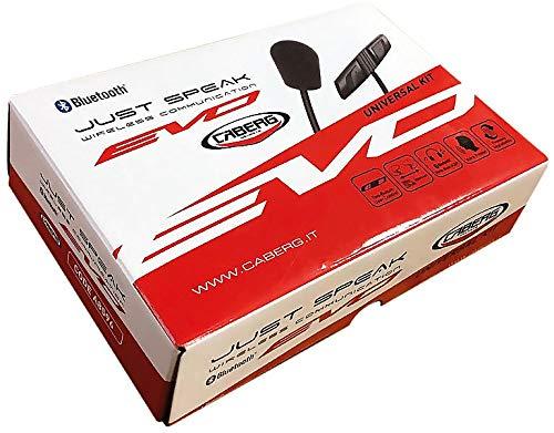Caberg JUST SPEAK EVO - Cuffie Bluetooth per molti caschi con Intercom Multipoint