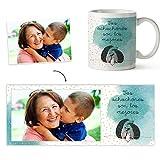 Fotoprix Taza Personalizada con Foto para Abuelo o Abuela   Regalo Original día del Abuelo   Varios diseños Disponibles (Achuchones)