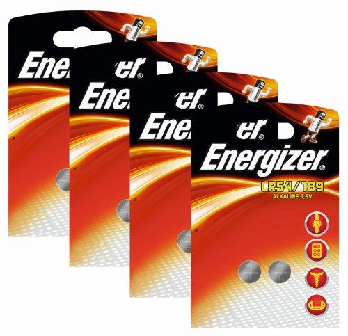 Energizer 623058SET Original Spezialbatterie Alkali Mangan 189 (1,5 Volt, 4x 2-er Pack)