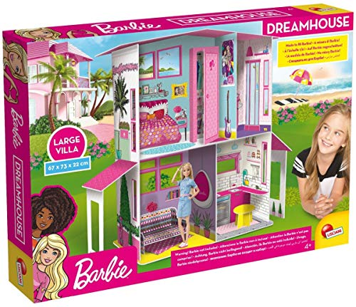Liscianigiochi- Barbie DREAMHOUSE, Multicolor (68265)
