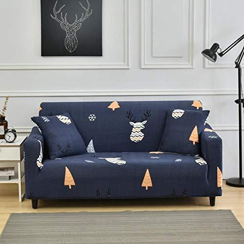 Allenger 1 Protector elástico para Muebles,Funda de sofá de impresión General de Cuatro Estaciones, Funda Protectora de Muebles elástica Antideslizante de Tela Todo Incluido, Lavable-8_190-230cm