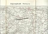 Regierungsbezirk Oberbayern Straßenkarte.