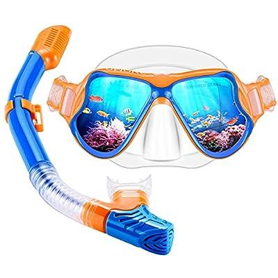 OMORC Snorkel Set, Anti Leak Snorkel Gear for Child