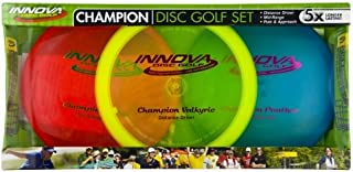 Innova Champion Disc Golf Set – Driver, Mid-Range & Putter, 150 Grams Each,..