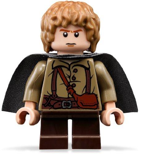 LEGO Der Herr Der Ringe: Samwise Gamgee Minifiguren Mit Grau Kap