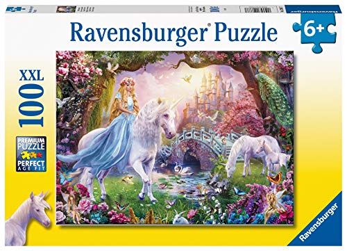 Ravensburger Puzzle - Magical Unicorn Puzzle 100 XXL, 12887 7