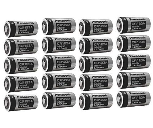 20x 3V CR123 CR123A DL123 A Batterien CR17345 Ultra Lithium Foto 3 Volt für Digitalkameras, Alarmanlagen, Sicherheitstechnik, Rauchmelder, Taschenlampen AKKUman Set (20 Stück)