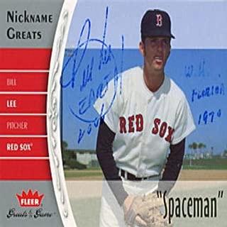 bill lee signed baseball