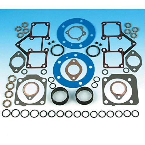 James Gasket Top End Gasket Kit with Firering Head Gaskets for Harley Davidson - One Size