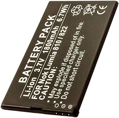 AccuCell Akku passend f r den Nokia Lumia 810 Akku 822 Nokia Akku BP-4W Schätzpreis : 21,49 €