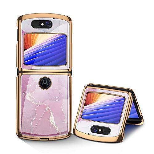 Hülle® Anti-Kratzer Glas Handyhülle Kompatibel für Motorola Razr 5G (2)