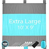 Best Beach Blanket Sand Frees - KeShi Sand Free Beach Blanket, Extra Large Oversized Review