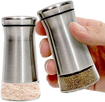 Willow & Everett Stainless Steel Salt and Pepper Shakers