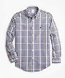 Brooks Brothers(ブルックス ブラザーズ) ノンアイロン GF ギンガムチェック カジュアルシャツ 長袖 Regent Fit 9234931840