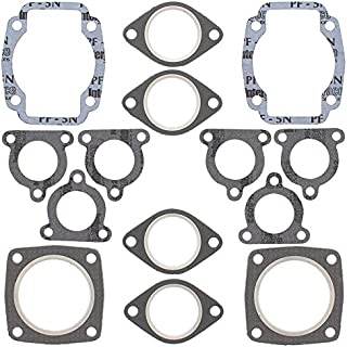 New Winderosa Full Top Gasket Set for Arctic Cat Super Jag 1990, Super Jag LT 1987 1988 1989 1990 1991 1992, Trail Cat 4000 1980 1981