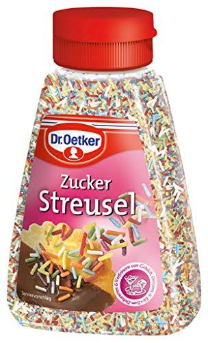 Dr.Oetker - Zucker Streusel bunt Back Dekoration - 130g