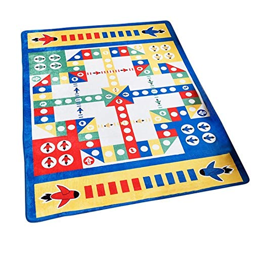 Los niños juegan Alfombra Puzzle for niños Sala de Mat Tapete Infantil de Arrastre del bebé del cojín Plegable bebé de la Estera Tejida Durable Anti Slip Piso Moqueta (Color : C, Talla : 100x160cm)