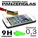 Beste4Handys Screen Tempered Glas für HTC One E8 Echt Glas Schutzfolie Panzer Bildschirm Schutz Folie Panzerglasscheibe