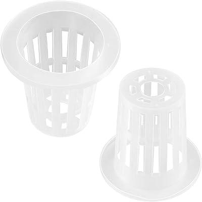 """100 2/"""" pouces net tasse pots hydroponique système Grow Kit"""