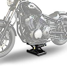 Elevador Tijera Moto ConStands Mid-Lift M para Harley Davidson Dyna Super Glide Custom (FXDC) black