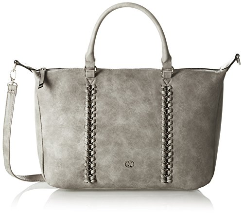 Gerry Weber Damen Warp Handbag Mhz Handgelenkstasche, Grau (Light Grey), One Size