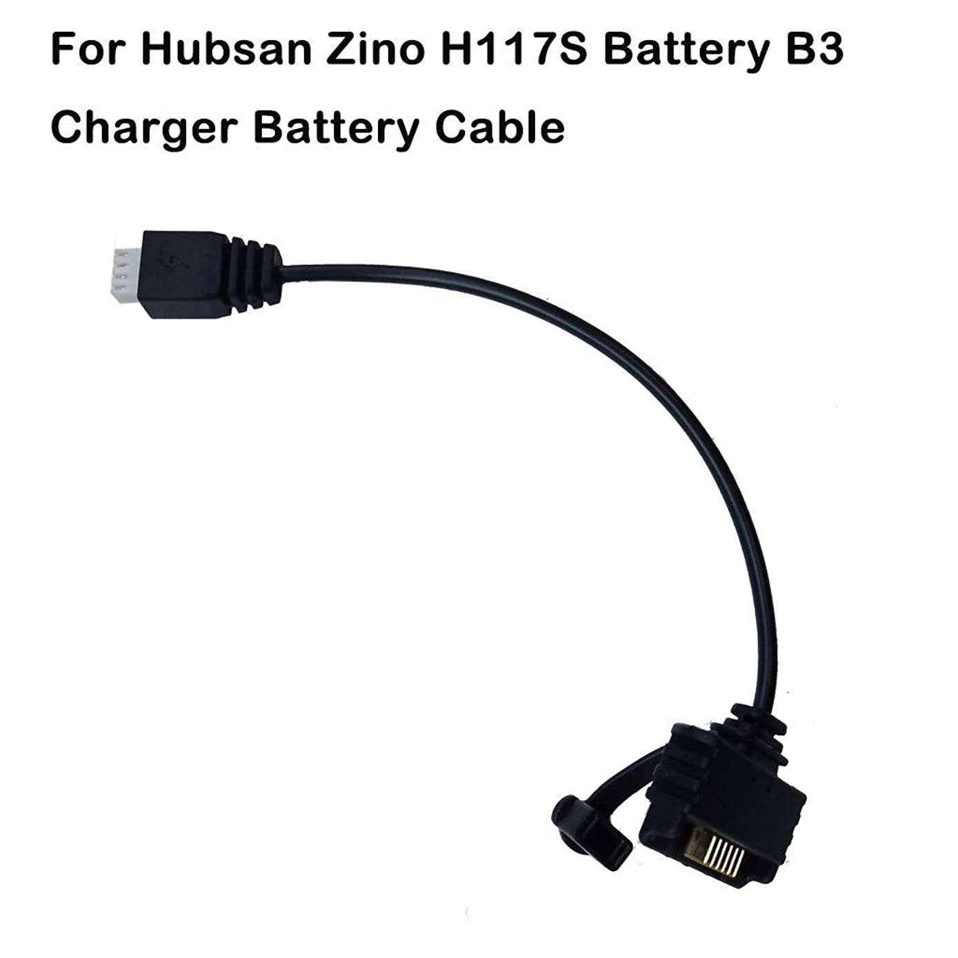 Volity Livoty Drone Charging Cable Hubsan Zino H117S RC Drone Quadcopter Spare Parts Battery Connected Cable Wire