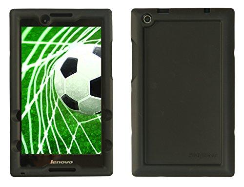 Bobj for Lenovo Tab 2 A8-50, A8-50F, also fits Lenovo Tab 3 TB3-850F, TB3-850M – BobjGear Protective Tablet Cover (Bold Black)